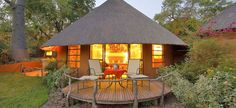 Mala Mala Game Reserve in Sabi Sands Game Reserve for the ultimate South Africa luxury safari Thatched House, Thatched Roof, Village House Design, Village Houses, African Hut, African Safari, Cabana, Round House Plans, Eco Construction