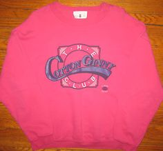 Cotton Ginny sweatshirts from the 80's