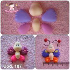 Imagem do produto Cód 187 Molde Borboleta balofa pequena