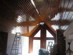 Remodel job - New ceiling