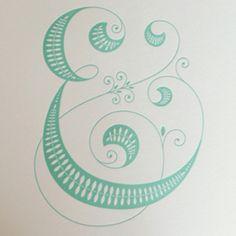 Ampersand at it's best! From Jessica Hische