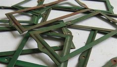 Your place to buy and sell all things handmade Antique Metal, Vintage Metal, Vintage Items, Green Office, Vintage Office, Magic Words, Vintage Green, Cool Things To Buy, Label