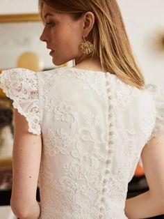 Balzac Paris x La Redoute Collections 5 Couture Details, Perfect Wedding Dress, Marie, Ruffle Blouse, Wedding Dresses, Inspiration, Women, Wedding Things, Wedding