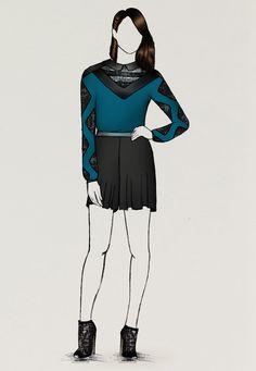 • Disponible avec tous mes autres dessins sur : www.guillaumeberg... #Guibes #GuillaumeBergen #FashionSketch #Fashion #Sketch #Mode #Illustration #FashionDraw #FashionIllustration #Design #Stylisme #Emeraude #Green #Neon #Turquoise #Skirt #Dress #Graphic #Drawn #Stylism