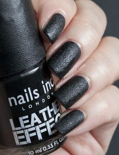Leather effect nailpolish New Look