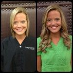 Before/After with VoMor Hair Extensions!