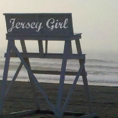 REAL jersey girl♥ born and raised ! Jersey Girl, New Jersey, Bergen County, Cape May, Road Trippin, Great Memories, Vacation, Beach Chairs, Seaside