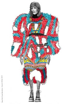2015 First Year Illustration Fashion Illustration Face, Illustration Mode, Illustration Techniques, Fashion Illustrations, Silhouette Mode, Fashion Design Portfolio, Fashion Sketchbook, Sketch Fashion, Sketchbook Inspiration