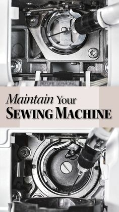 A little TLC keeps equipment running smoothly for years Sewing Machine Repair, Sewing Machine Thread, Sewing Notions, Sewing Basics, Sewing Hacks, Sewing Ideas, Sewing Tools, Sewing Projects, Embroidery Tools