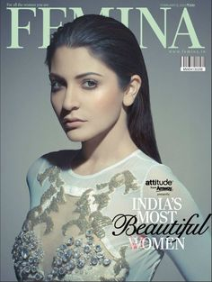 Anushka Sharma On The Cover of Femina Magazine – February 2013.