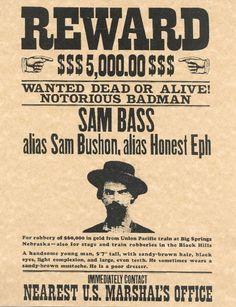 Sam Bass ~ BFD