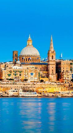 Valletta Skyline in the Evening, Malta | Visit Malta – A Piece of Heaven in Southern Europe