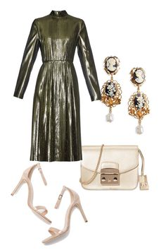I am obsessed with this dress.   5 Fabulous, Unexpected Holiday Party Looks   - HarpersBAZAAR.com