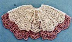 Patrones de Capas tejidas al Crochet   Todo crochet
