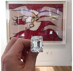 """The Ring"", le diamant de Roy Lichtenstein aux enchères chez Sotheby's New York 2"