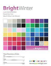 Image result for cool winter palette
