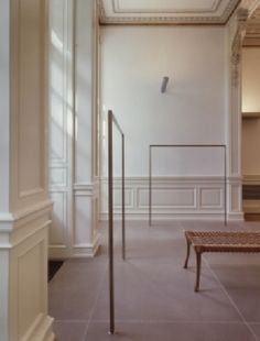 Jil Sander showroom and atelier in Hamburg. Restoration and renovation of a classical villa by American architects Gabellini Sheppard.