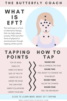 Mental And Emotional Health, Emotional Healing, What Is Eft Tapping, Eft Therapy, Eft Technique, Holistic Medicine, Alternative Therapies, Coping Skills, Health And Wellbeing