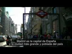 """▶ Learn Spanish - discovering the """"monumental Madrid"""" (Spanish subtitles) - YouTube"""