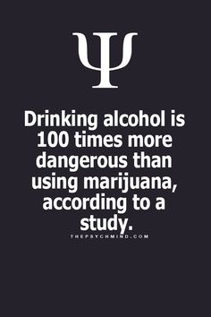 Yep. And people get so uppity and pissy about legalizing or having medical marijuana. I don't recall ever hearing of a person who smoked killing a family while driving like drunks have.