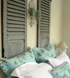 shabby chic french interiors shutters - Google Search