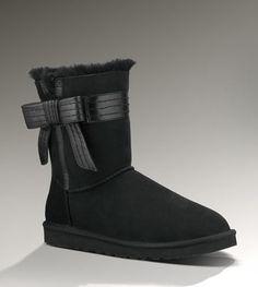 UGG Womens Josette Black $180 : UGG Outlet, Cheap UGG Boots Outlet Online, 50%-70% Off!