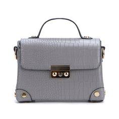 Grey Small Shoulder Bag