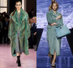 Слева - Christian Dior, справа - Max Mara