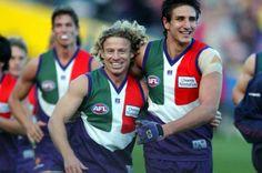 Shaun McManus (the people's champion) - Matthew Pavlich ( the Legend ) 2007 Australian Football, Football Team, Champion, Passion, Club, Purple, Football Squads, Viola