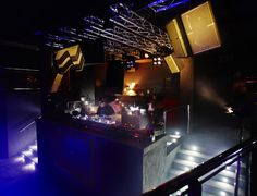 The club BOOOM DJ Booth Ibiza, with Pioneer Professional Audio