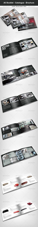A5 Booklet - Catalogue - Brochure