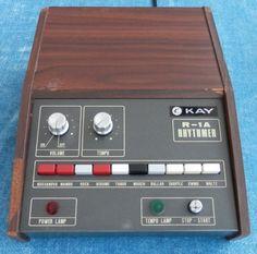 MATRIXSYNTH: Kawai (kay) R-1A Preset Drum Machine