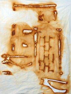 Rust , Dyeing , Pattern and Texture Artist Study, with thanks to  tracy mccabe stewart resources for art students CAPI ::: Create Art Portfolio Ideas at milliande.com, Art School Portfolio Work