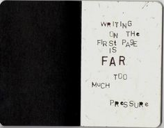 first impressions, felt, journal page first, journal first page, inspir, diaries, writing, writer, feelings