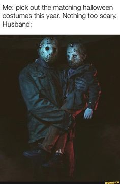 Me: pick out the matching halloween costumes this year. Nothing too scary. Jason Voorhees Drawing, Jason Voorhees Figure, Horror Movie Characters, Horror Movies, Slasher Movies, Arte Horror, Horror Art, Matching Halloween Costumes, Horror Drawing