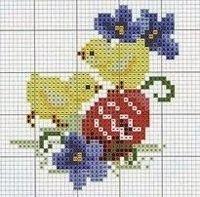 Σχέδια για κεντήματα σε Πασχαλινό κλίμα, Μύρισε Πάσχα και τα κοτοπουλάκια και τα αυγά σκάσανε μύτη, Designs for embroidery for Easter, Entwürfe für Stickereien für Ostern, Designs pour la broderie pour Pâques,