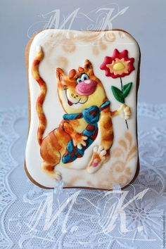 """Кулинарные сувениры ручной работы. Ярмарка Мастеров - ручная работа. Купить """"Кот в галстуке"""". Handmade. Комбинированный, подарок девушке"""