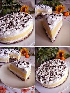 Ez nekem is tutira a kedvenceim közé kerülne! Hungarian Cake, Hungarian Recipes, Cupcake Recipes, Cookie Recipes, Dessert Recipes, Sweet Desserts, No Bake Desserts, Homemade Sweets, Sweet And Salty