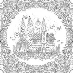Johanna Basford Lost-Ocean latest book - #coloring pages for adults