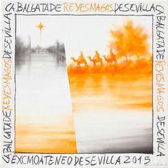 Cartel Cabalgata Reyes Sevilla 2015