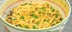 Fettuccine With Mushrooms – ($10 Or Less Meal)