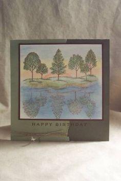 Splitcoaststampers FOOGallery - Reflective Birthday Tree