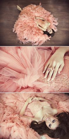All princesses have at least one fluffy pink ball gown ready for princess emergencies.