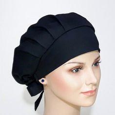 Scrub Hat Patterns, Restaurant Uniforms, Cute Scrubs, Sewing Headbands, Nurse Hat, Head Scarf Styles, Medical Uniforms, Chef Apron, Sewing Aprons