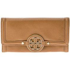 TORY BURCH 'Amanda' purse ($195) ❤ liked on Polyvore featuring bags, handbags, fold over handbag, tory burch bags, pocket bag, pocket purse and foldover purse