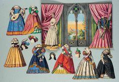 medieval dolls miniature | Doll Museum: Medieval Miniature Dolls; Modern Interpretations.