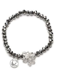 #proudmama #armband charm zilver-beads