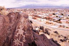 petroglyph national monument Albuquerque New Mexico