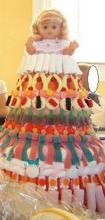 Tartas de gominolas on pinterest candy manualidades and - Manualidades con gominolas ...
