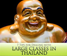 7 Tips for Dealing with Large Classes in Thailand
